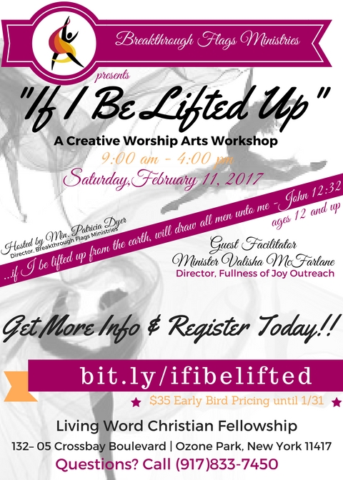 If I Be Lifted Up Registration