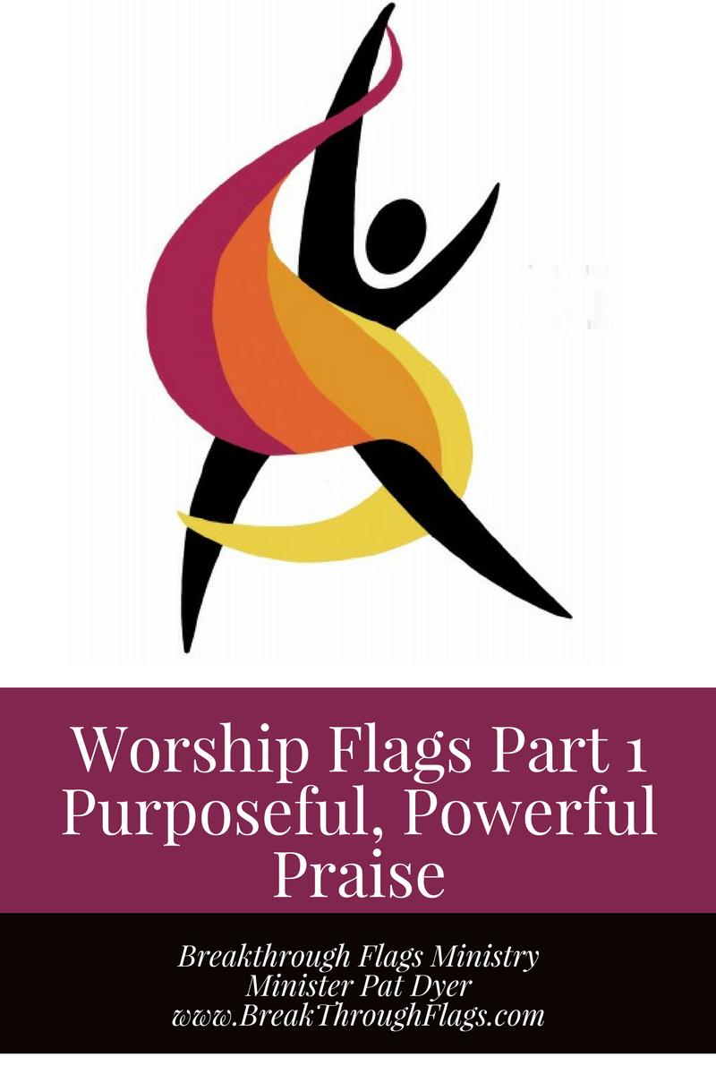 Worship Flags Part 1 DVD Purposful, Powerful Praise (1)