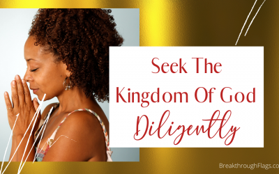 Seek The Kingdom Of God Diligently