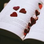 bible with hearts in it